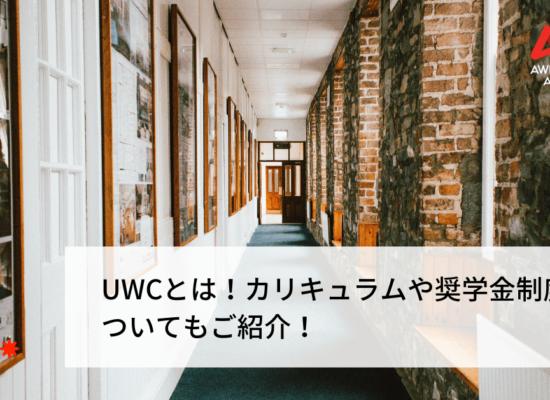 UWCとは!カリキュラムや奨学金制度についてもご紹介!